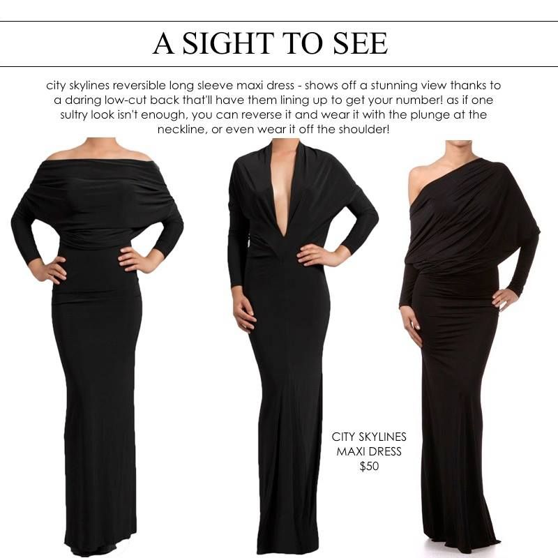 a sight to see! perfect #lbd and so versatile | indumentaria ...