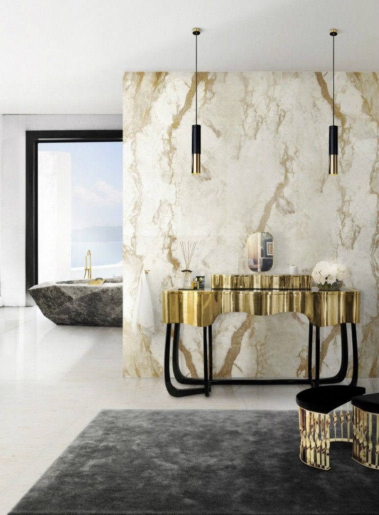 Luxurious Marble Bathroom Designs Interer Roskoshnye Vannye Komnaty Dizajn Interera