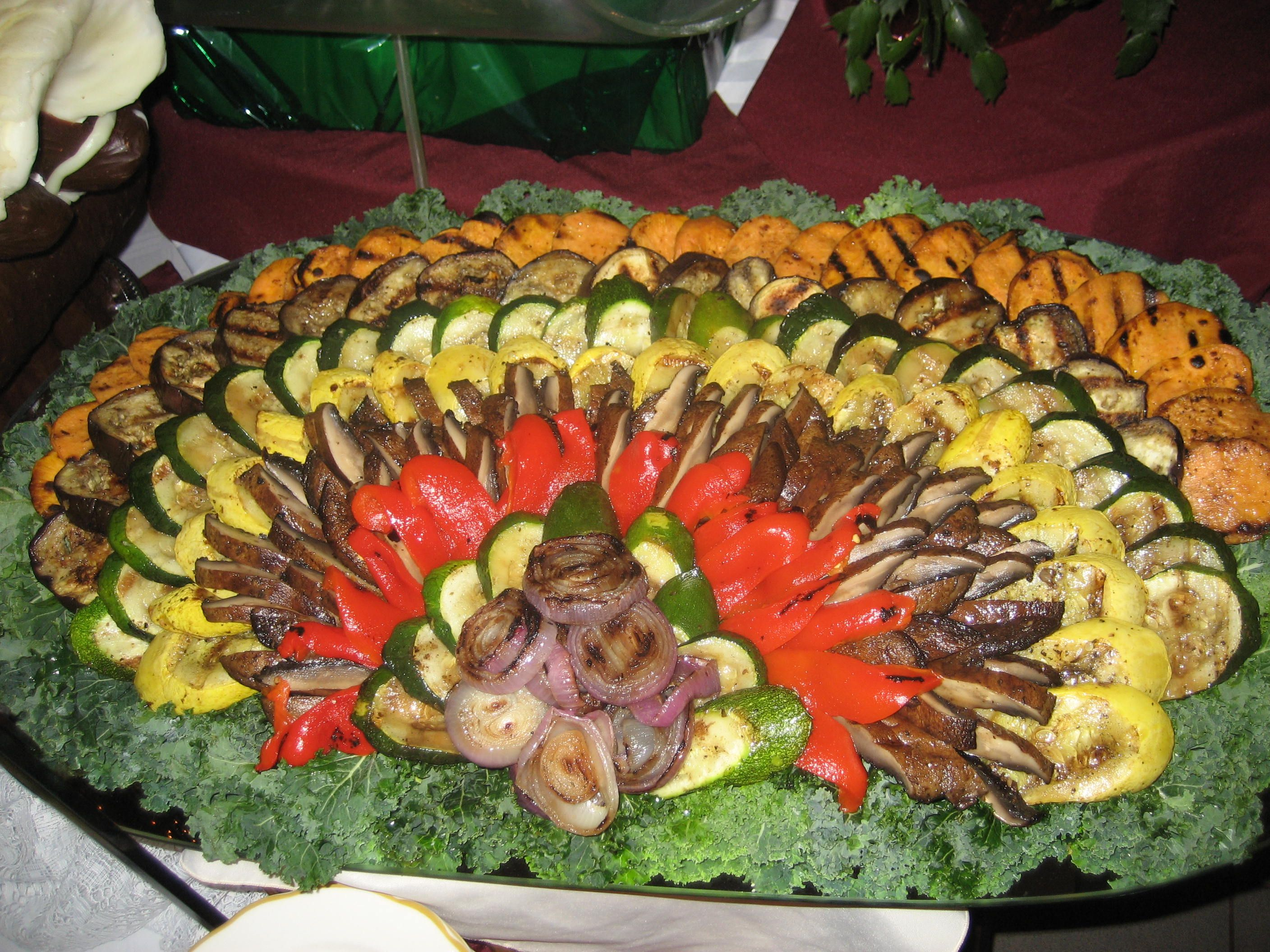 Waterfall Fruit And Veggie Displays: Weddings, Banquet, Catering On