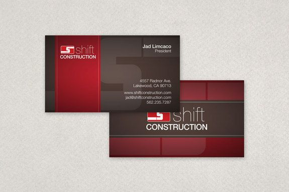 Construction Company Business Card Template Inkd Company Business Cards Business Card Template Business Cards Creative Templates