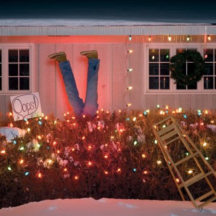 Funny Christmas Lights My Neighbors Are Asking Me To Decorate The Front Yard In Good Humor I M Thinking Of Doing It