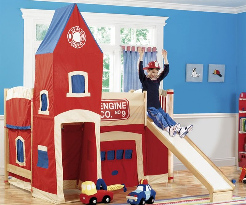 Firehouse Low Loft Bed 677 00 Inspiration For The Imps