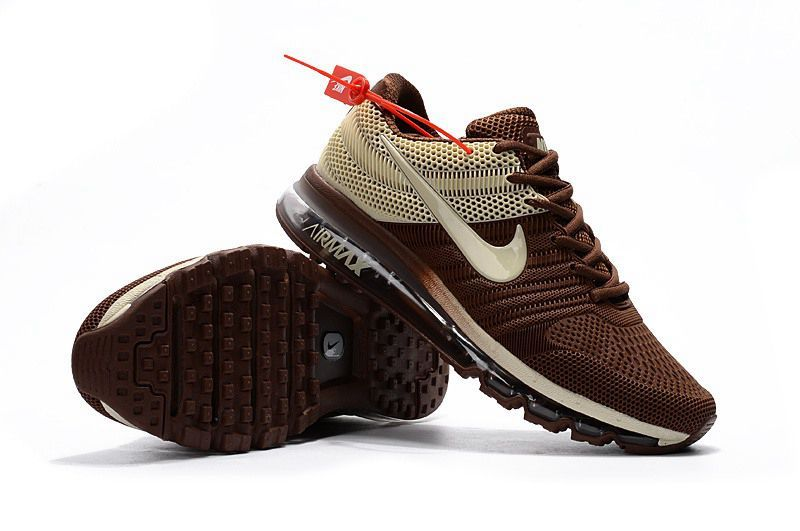 75cec6e13c Nike Air Max 2017 Men Brown Beige | gear | Nike air max running ...
