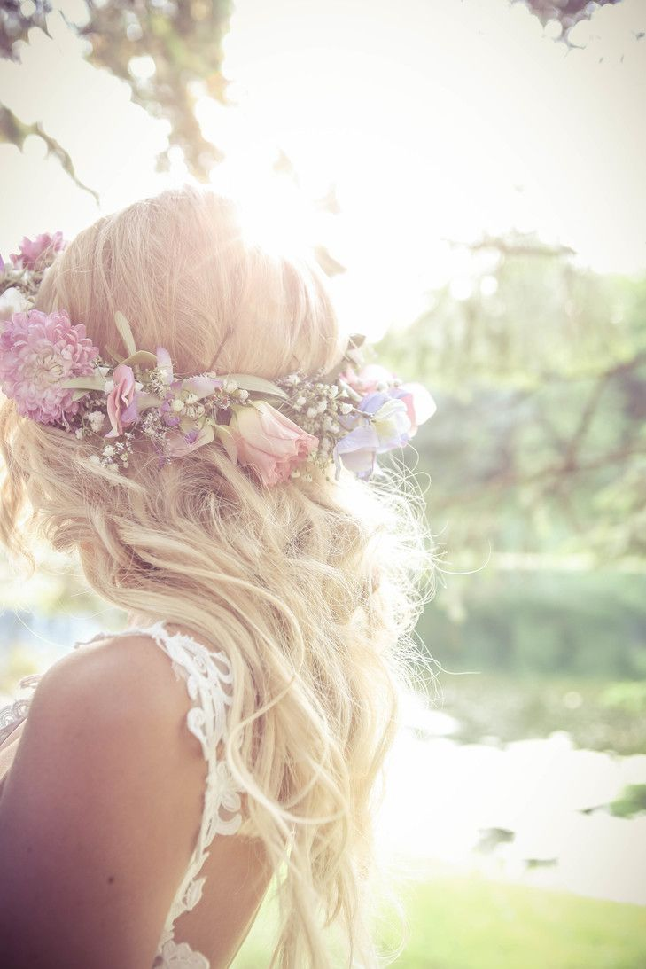 Rose and Baby\'s Breath Flower Crown   Nestleton Waters Inn   New ...