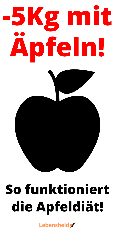 Siehe die Apfeldiät