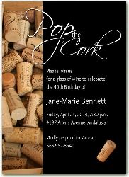 2477 Birthday Invitations Wine Theme Party Pop The Cork Moms