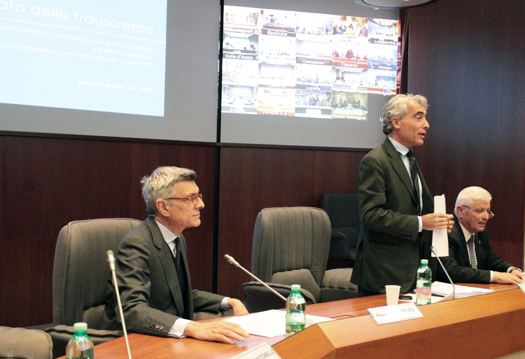 Giornata Della Trasparenza 2015 Presidente Inail Massimo De
