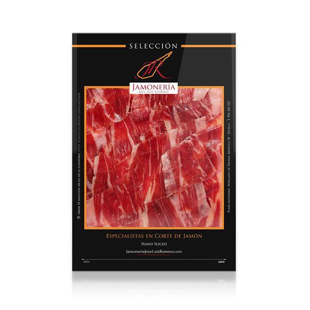 Branding Packaging Design For Vacuum Sealed Spanish Ham