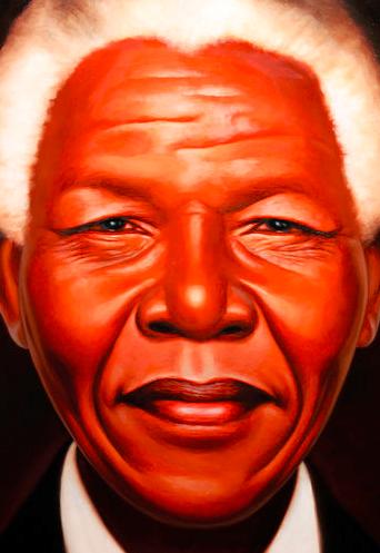 "Credit: From ""Nelson Mandela"" by Kadir Nelson"