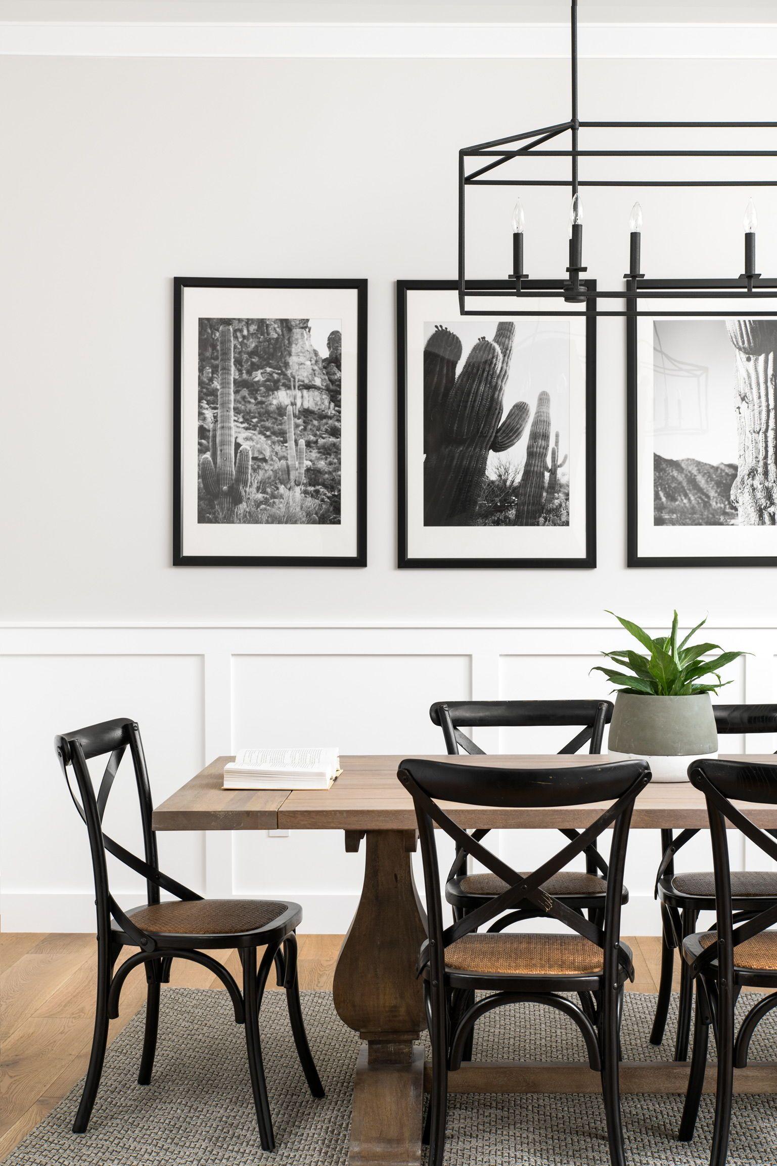 Monochrome Magic Black White Dining Room Wood Dining Room White Dining Room Black And White Dining Room