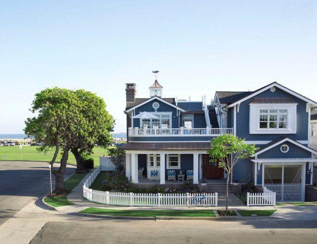 Beach House Ideas. Coastal Living Beach House Design Ideas. #BeachHouse  #CoastalLiving Burnham