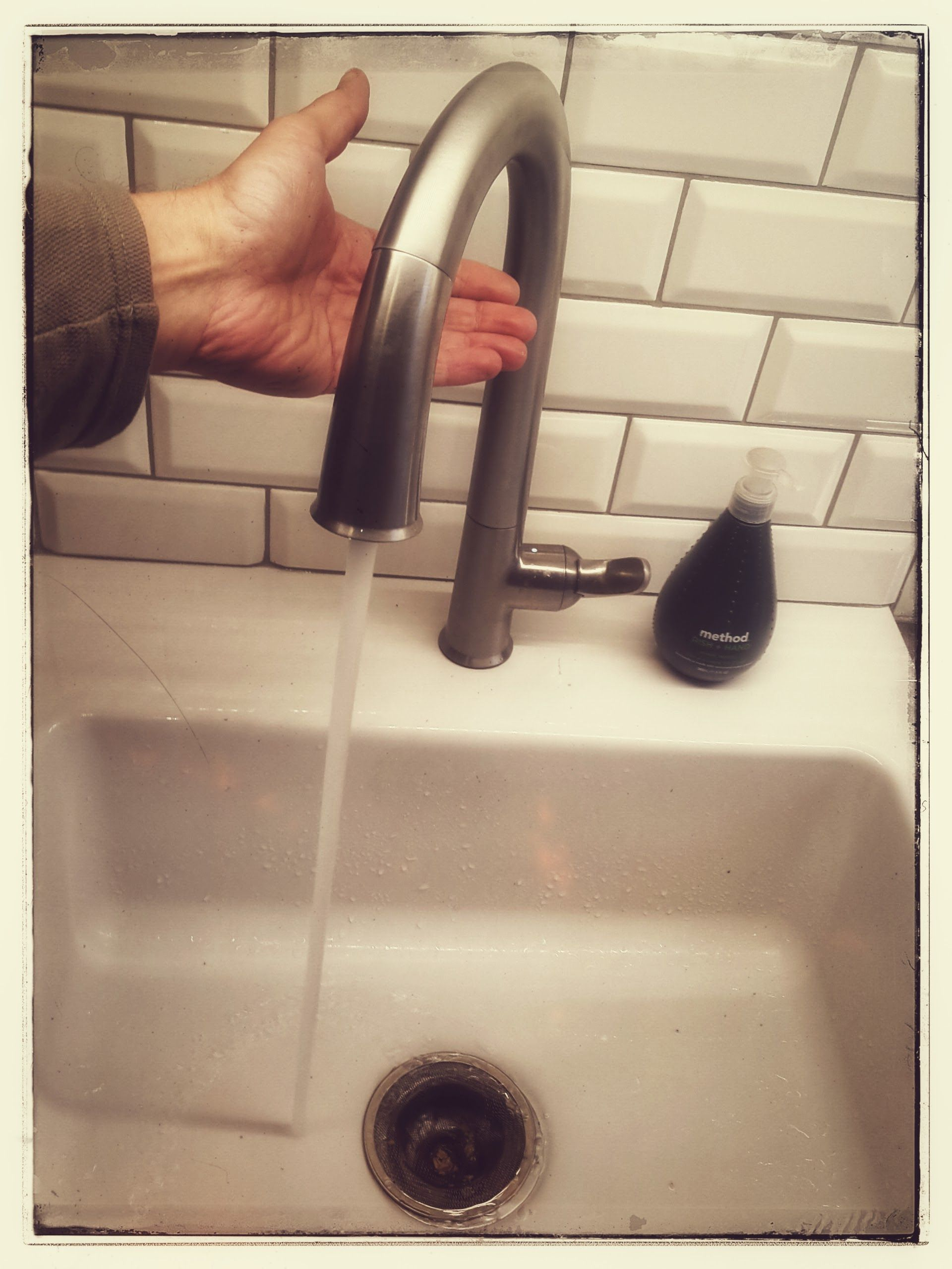 Kohler Sensate Touchless Faucet In Our Newly Renovated Kitchen Kick