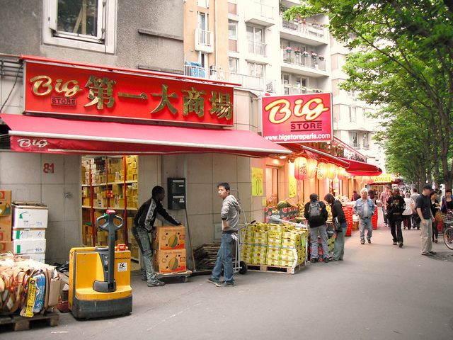 Image result for Paris china town