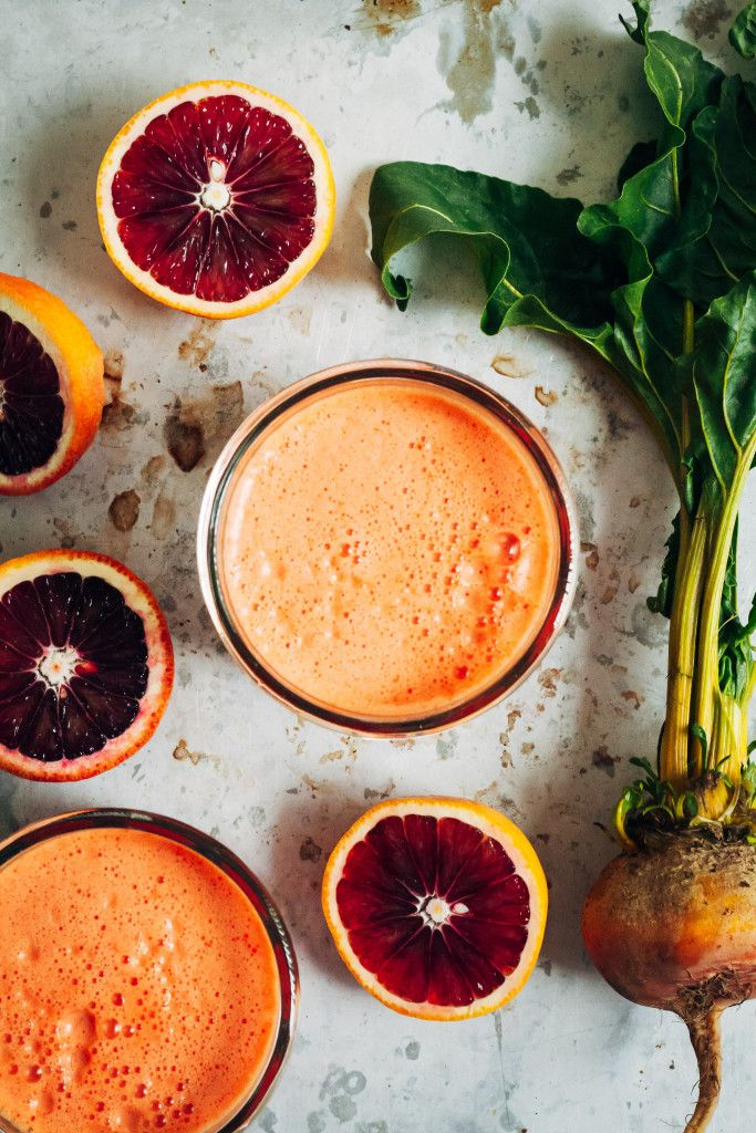 Sunny Citrus Beet Juice | Well and Full