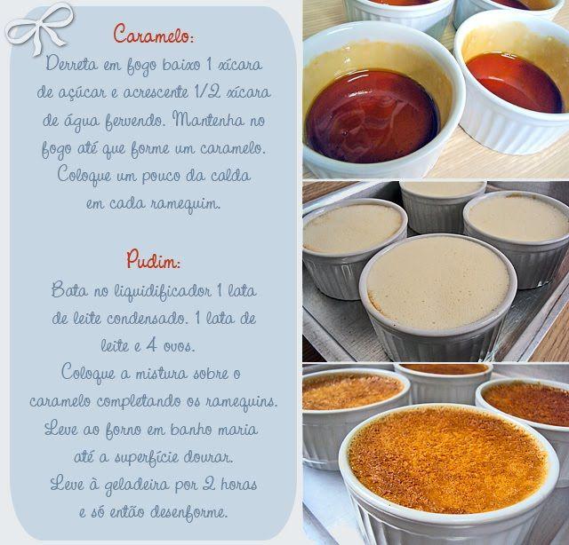 Pudim de Leite Condensado ~ PANELATERAPIA - Blog de Culinária, Gastronomia e Receitas