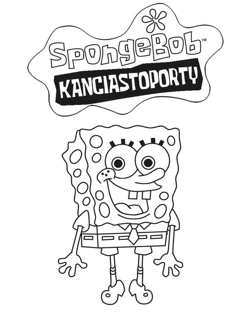 Kolorowanka Spongebob Kanciastoporty In 2020 Spongebob Vault Boy Character