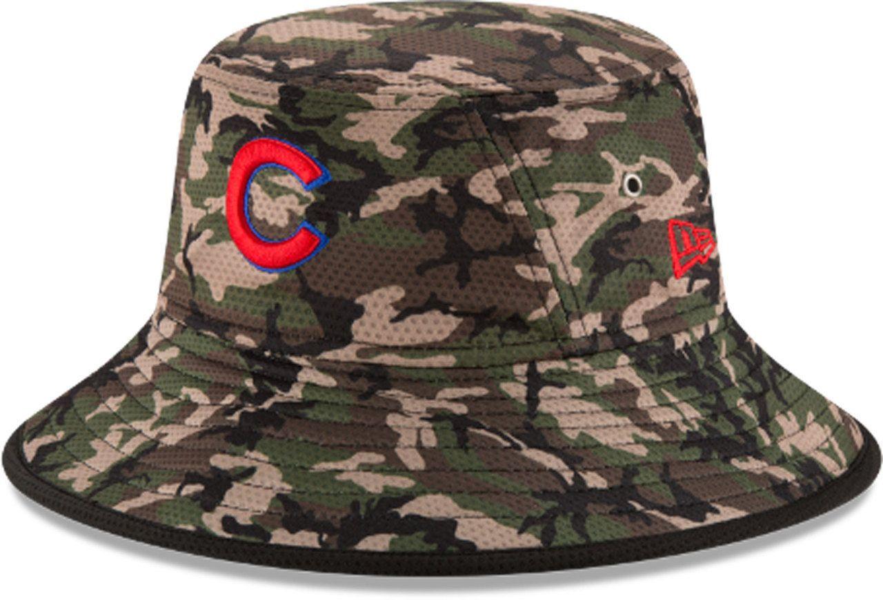 d7264ffcbf4 Chicago Cubs Camo Redux Bucket Hat by New Era  ChicagoCubs  Cubs  FlyTheW   GoCubsGo