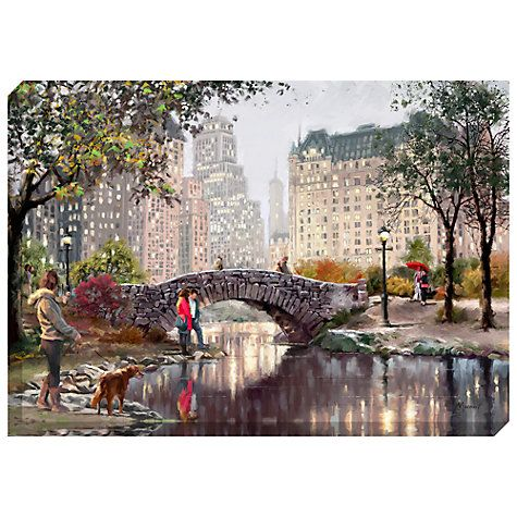 Buy Macneil Studio - Gapstow At Evening Print on Canvas, 70 x 100cm Online at johnlewis.com