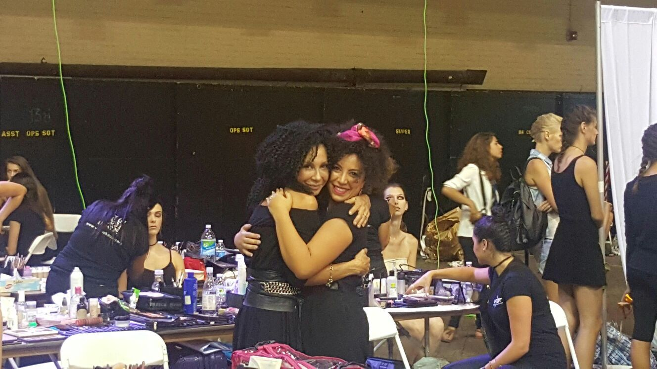 Beyouty e Valeria Orlando. #Beyouty #Fashion #NewYorkFashionWeek #NYFW