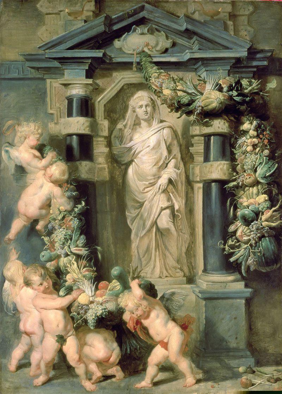 Peter Paul Rubens Деметра Церера