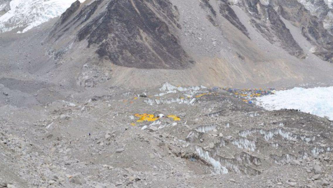 Base Camp Himalayas