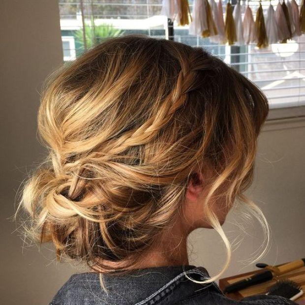 Los Recogidos Para Medias Melenas Perfectamente Imperfectos Her Mo Sos Peinados Peinados Updo Peinados De Novia