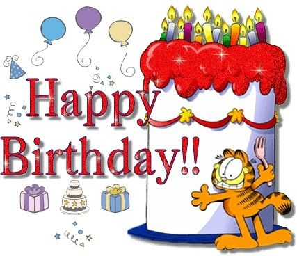 Garfield Happy Birthday Pictures Happy Birthday Greetings Happy Birthday Cards