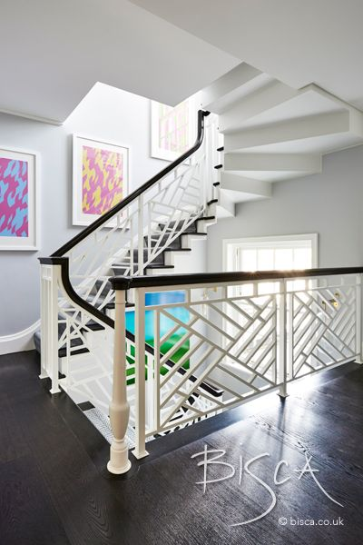 Chinese Chippendale   Staircase design, Interior staircase ...