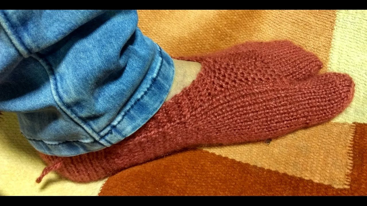 Knitted Slippers Pattern With Two Needles New Inspiration Design