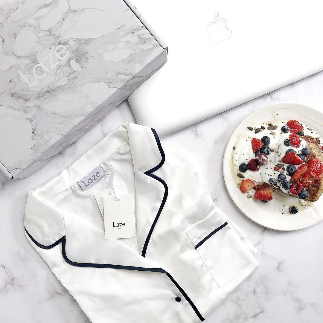 Blanc Hague / Marble / Satin / Silk / Luxe / Pjs