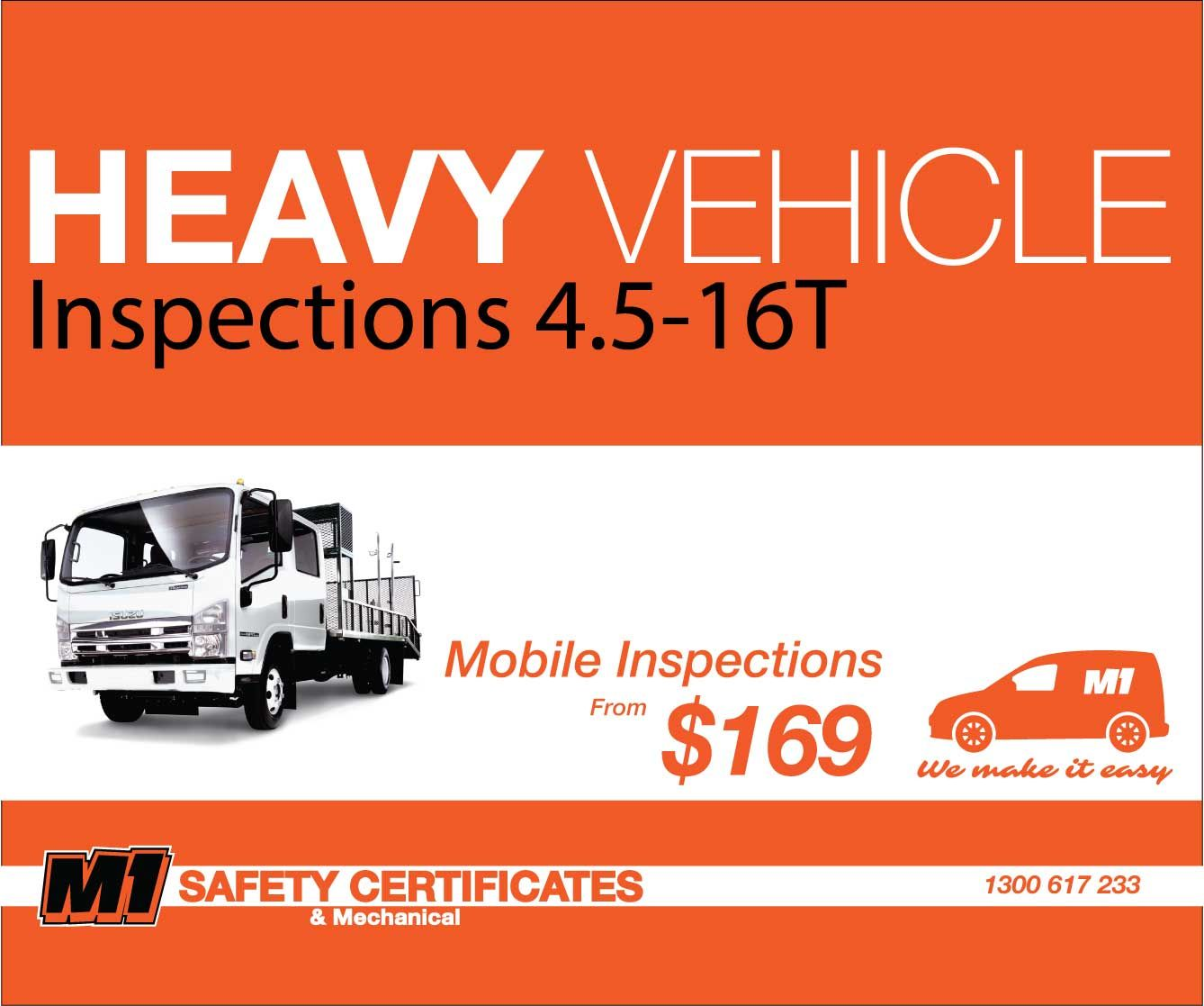 Brisbane and gold coastmobile certificate of inspections