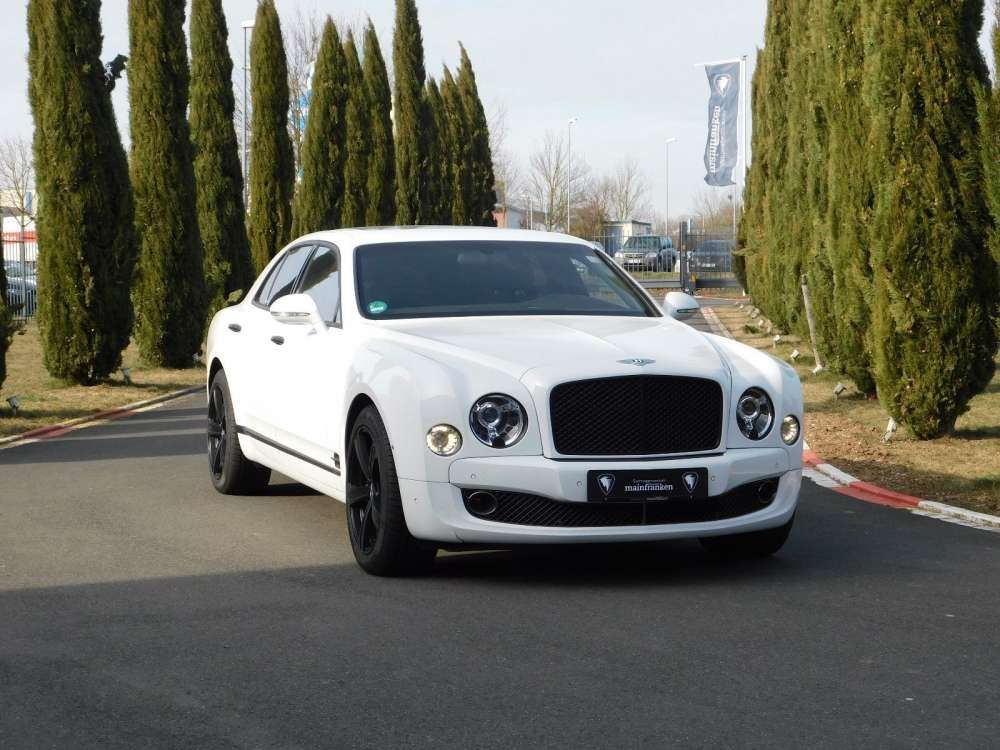 2015 Bentley Mulsanne Speed - Limousine White Color Tags: #2015 ...