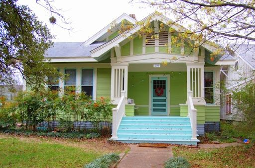 green and light teal - possible exterior color scheme. | favorite