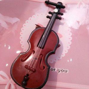 Korea Sweet Violin Hair Clip/Hair Band
