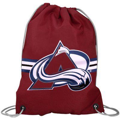 online retailer 1b397 4560a Fanatics Colorado Avalanche Team Logo Drawstring Backpack ...