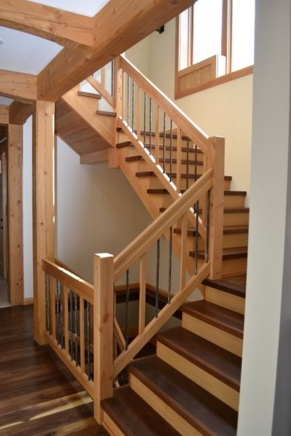 Wood Stair Spindles Home Stair Design Ideas Pictures 85   Stairs .