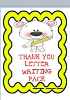 This Is A Pack Of Thank You Letter Pages For You To Use With Your