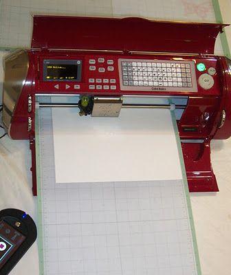 The Cricut Cake Machine Can Cut Paper Cricut Chat Cricut Forums Stunning Cricket Sewing Machine