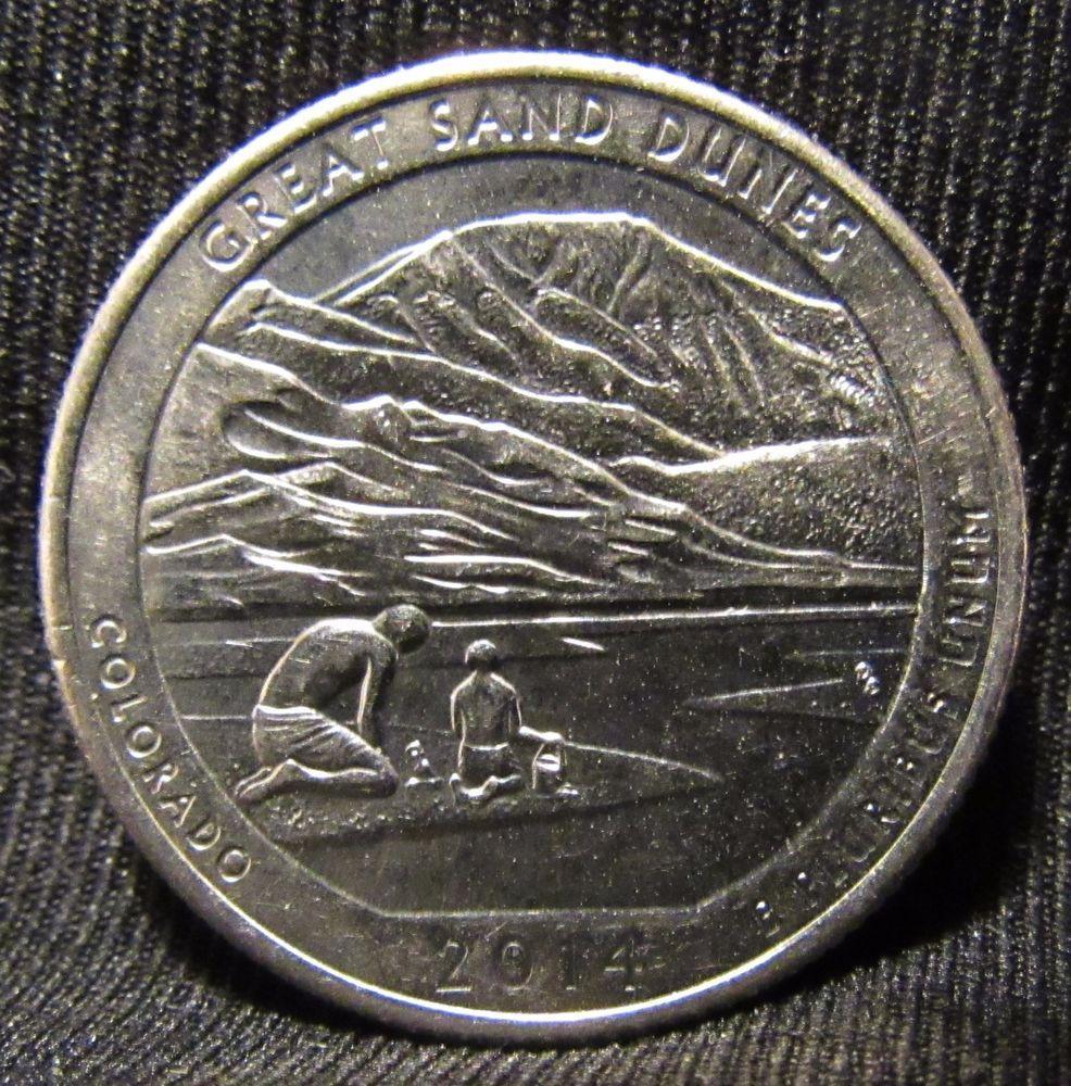 2014 Colorado D Mint Error Coin Double Die Variety Reverse