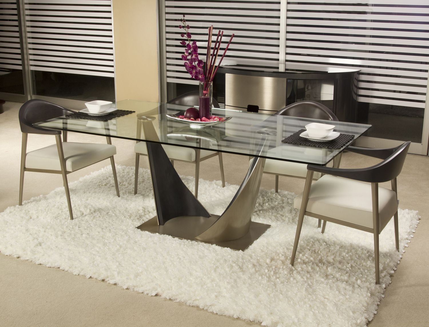 Elite Triston Dining Set Join Contemporary Lifestyles This Labor Day Weekend For Our Semi Annual Sale
