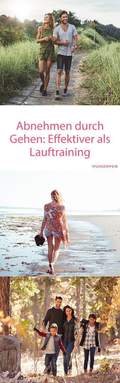 Perdere peso camminando: più efficace dell'allenamento da corsa WUNDERWEIB