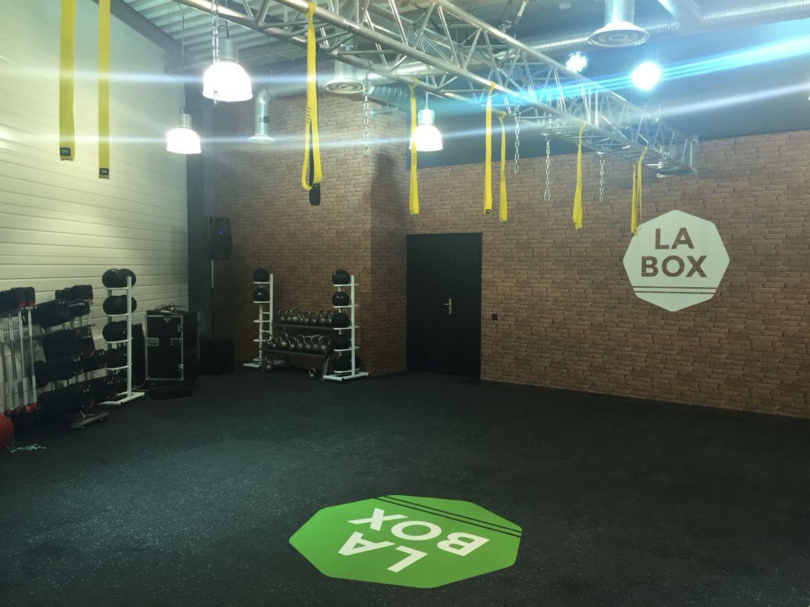 La Fonderie Club de sport La Box zone fonctionnelle