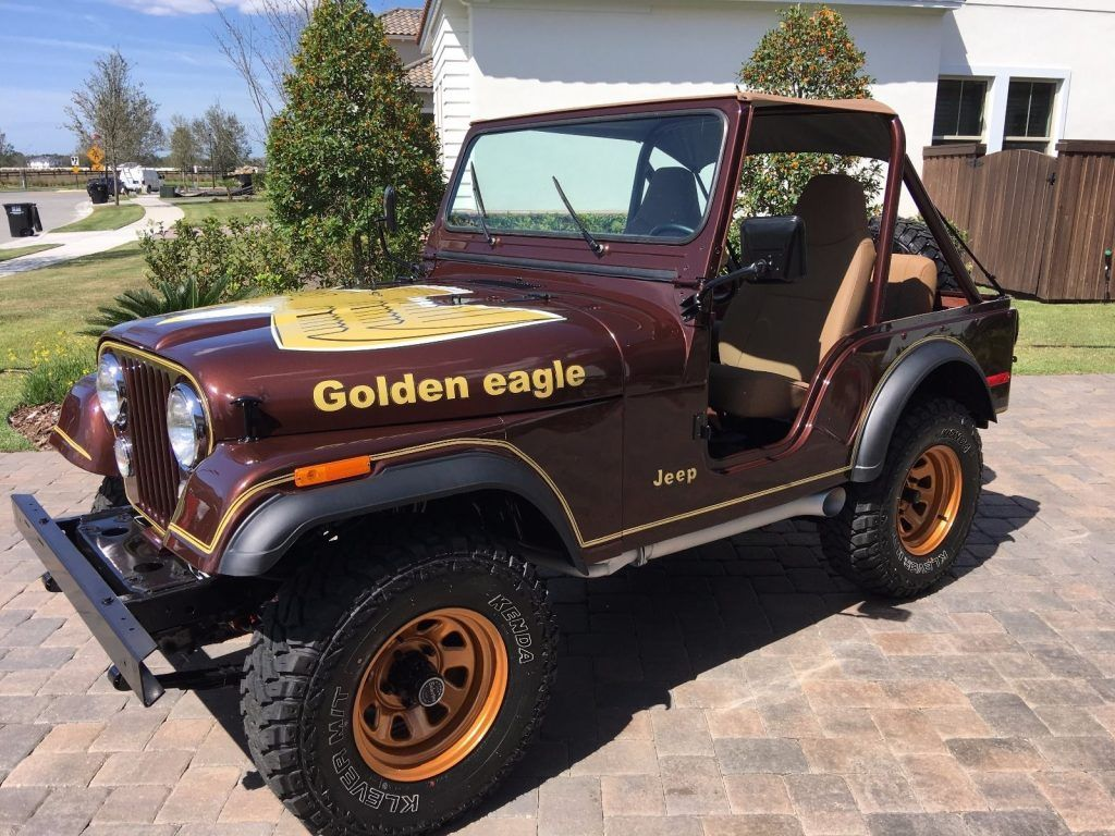 1977 Jeep Cj5 Golden Eagle V8 Jeep Cj5 Jeep Jeep Bumpers