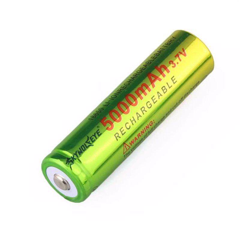 Bike Light 1x3 7v 18650 5000mah Li Ion Rechargeable Battery For Lamp Torch July21 Flashlight Rechargeable Batteries Bike Lights