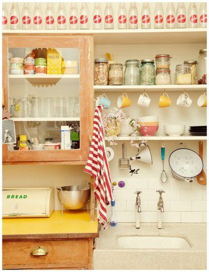 In with the Old: Vintage Kitchen Inspiration