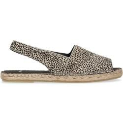 Manfield MIT LEOPARDENMUSTER - Sneaker low grey
