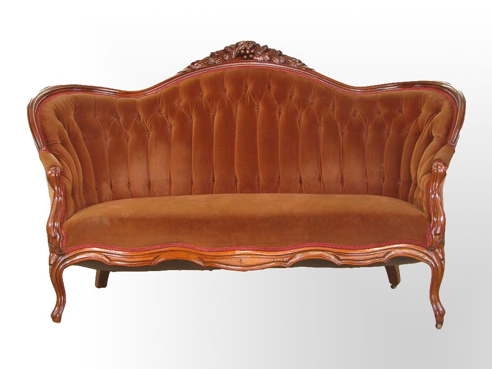 Victorian Antique Settee Carved Antiques Center Antique Settee Antiques Antique Sofa