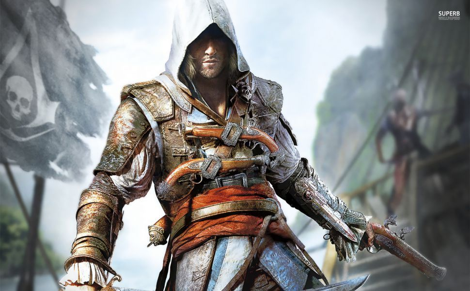 Assassins creed iv black flag hd wallpaper wallpapers assassins creed iv black flag full hd wallpaper and background voltagebd Gallery