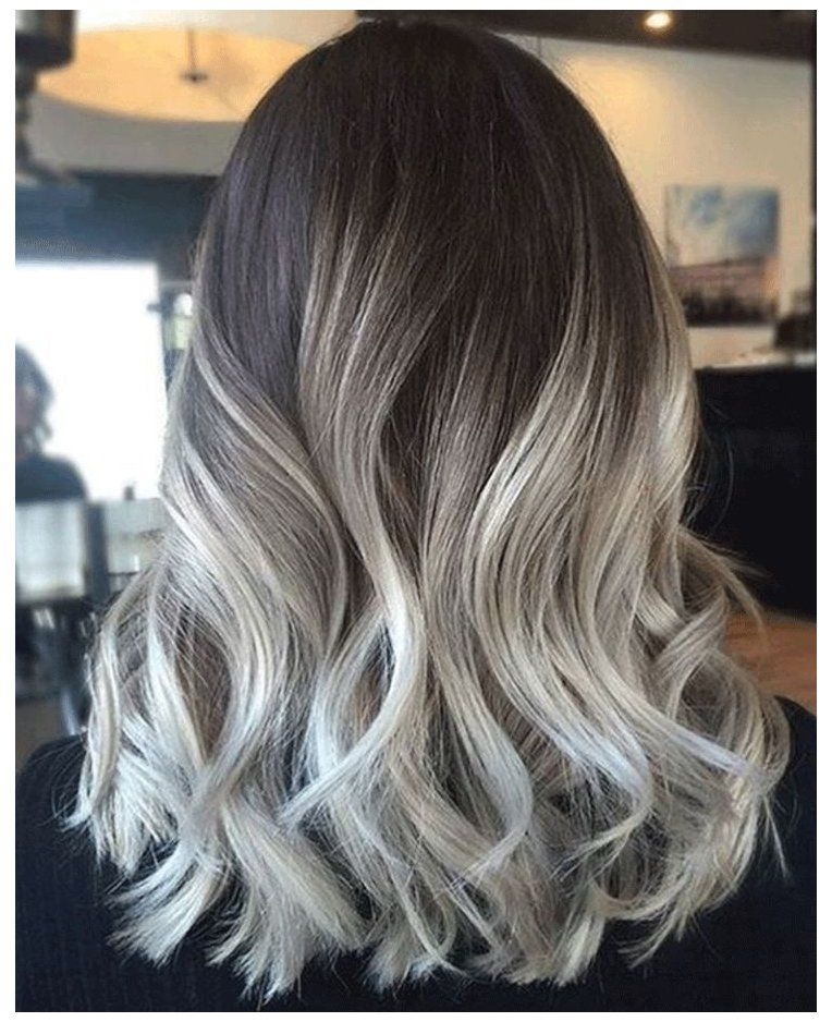 The 10 Beauty And Hair Trends You'll Be Trying Out in 2017 #silvergreyhair