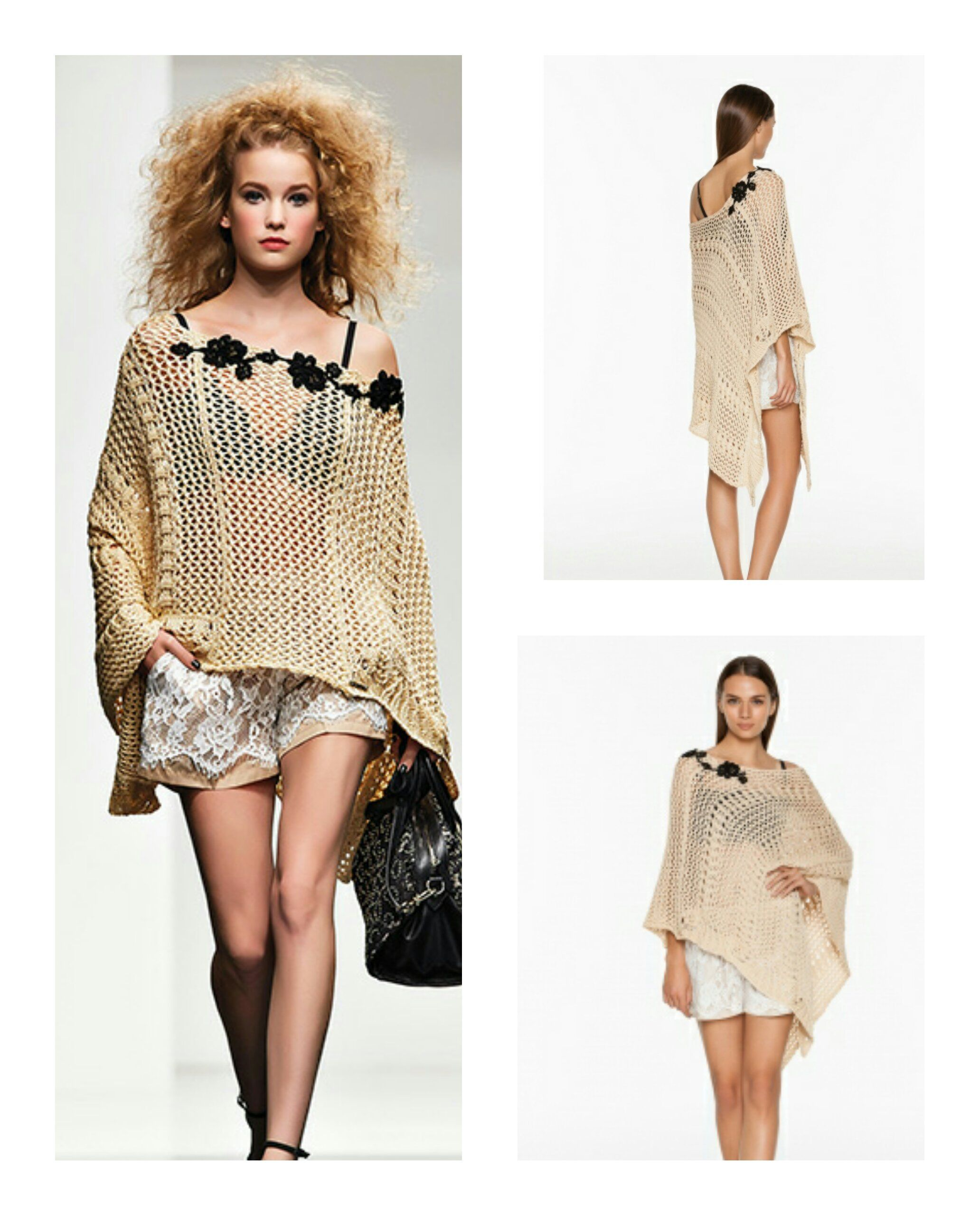 Twin Set collection. Poncho now available at Aspirations. | TWIN ...